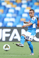 Stanislav Lobotka of Napoli in action during the Serie A football match between SSC  Napoli and SPAL at stadio San Paolo in Naples ( Italy ), June 28th, 2020. Play resumes behind closed doors following the outbreak of the coronavirus disease. <br /> Photo Cesare Purini / Insidefoto