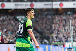 10.02.2019, Weserstadion, Bremen, GER, 1.FBL, Werder Bremen vs FC Augsburg<br /><br />DFL REGULATIONS PROHIBIT ANY USE OF PHOTOGRAPHS AS IMAGE SEQUENCES AND/OR QUASI-VIDEO.<br /><br />im Bild / picture shows<br />Max Kruse (Werder Bremen #10) mit Trauerflor, <br /><br />Foto © nordphoto / Ewert