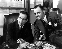 The Maltese Falcon (1941)<br /> Humphrey Bogart &amp; Jerome Cowan<br /> *Filmstill - Editorial Use Only*<br /> CAP/KFS<br /> Image supplied by Capital Pictures