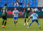 Francisco Montero (RC Deportivo de la Coruna) seen in action during La Liga Smartbank match round 39 between Malaga CF and RC Deportivo de la Coruna at La Rosaleda Stadium in Malaga, Spain, as the season resumed following a three-month absence due to the novel coronavirus COVID-19 pandemic. Jul 03, 2020. (ALTERPHOTOS/Manu R.B.)