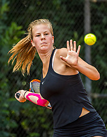 Hilversum, Netherlands, August 9, 2017, National Junior Championships, NJK, Malou Goes<br /> Photo: Tennisimages/Henk Koster