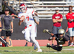 Palos Verdes, CA 10/21/16 - Jack Alexander (Redondo Union #7) in action during the CIF Southern Section Bay League Redondo Union - Palos Verdes Peninsula game at Peninsula High School.