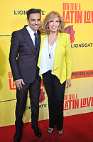 www.acepixs.com<br /> <br /> April 26 2017, LA<br /> <br /> Raquel Welch and Eugenio Derbez (L) arriving at the premiere of 'How To Be A Latin Lover' at the ArcLight Cinemas Cinerama Dome on April 26, 2017 in Hollywood, California. <br /> <br /> By Line: Peter West/ACE Pictures<br /> <br /> <br /> ACE Pictures Inc<br /> Tel: 6467670430<br /> Email: info@acepixs.com<br /> www.acepixs.com