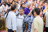 Trump Protector ejected at Hillary Clinton & Al Gore Rally in Miami, FL on October 11, 2016