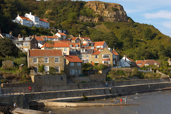 Runswick Bay Village - North Yorkshire - England