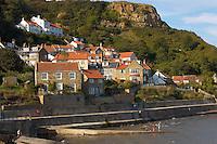 Runswick Bay Village - North Yorkshire - England