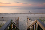 Sunset at Sandy Neck Reserve, Barnstable, Cape Cod, MA, USA