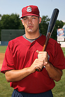 June 24, 2009:  Outfielder Tim Palincsar of the Mahoning Valley Scrappers during a game at Eastwood Field in Niles, OH.  The Scrappers are the NY-Penn League Short-Season Single-A affiliate of the Cleveland Indians.  Photo by:  Mike Janes/Four Seam Images