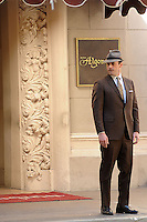WWW.ACEPIXS.COM <br /> January 14, 2014 Los Angeles CA<br /> <br /> Jon Hamm on the set of Mad Men in Los Angeles, CA on January 14, 2014.<br /> <br /> Please byline: Kristin Callahan  <br /> <br /> ACEPIXS.COM<br /> Ace Pictures, Inc<br /> tel: (212) 243 8787 or (646) 769 0430<br /> e-mail: info@acepixs.com<br /> web: http://www.acepixs.com