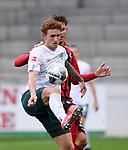 FussballFussball: agnph001:  1. Bundesliga Saison 2019/2020 27. Spieltag 23.05.2020<br /> SC Freiburg - SV Werder Bremen<br /> Josh Sargent (SV Werder Bremen) am Ball<br /> FOTO: Markus Ulmer/Pressefoto Ulmer/ /Pool/gumzmedia/nordphoto<br /> <br /> Nur für journalistische Zwecke! Only for editorial use! <br /> No commercial usage!