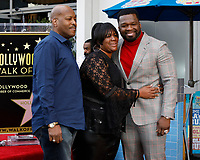 LOS ANGELES - JAN 30:  Guest, Aunt Jean, Curtis Jackson, 50 Cent at the 50 Cent Star Ceremony on the Hollywood Walk of Fame on January 30, 2019 in Los Angeles, CA