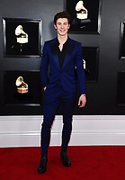 Shawn Mendes arrives at the 61st annual Grammy Awards at the Staples Center on Sunday, Feb. 10, 2019, in Los Angeles. (Photo by Jordan Strauss/Invision/AP)
