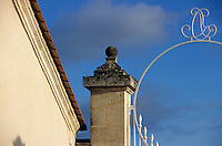 Europe/France/Aquitaine/33/Gironde/Saint-Julien: Chateau Branaire Ducru (AOC Saint-Julien) - Détail de la grille [Non destiné à un usage publicitaire - Not intended for an advertising use]