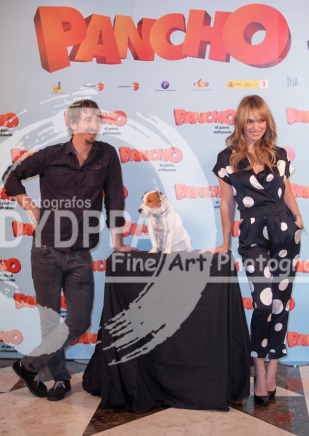 MADRID, SPAIN - JUNE 3 Spanish Actress Patricia Conde attends the 'Pancho. El Perro Millonario' Madrid Photocall on June 3, 2014 in Hotel NH Palacio de Tena Madrid, Spain. Photo by Nacho Lopez/ DyD Fotografos-DYDPPA