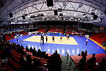 KENOSHA, WI - APRIL 28:  The Division III Men's Volleyball Championship was held at the Tarble Athletic and Recreation Center on April 28, 2018 in Kenosha, Wisconsin. (Photo by Steve Woltmann/NCAA Photos via Getty Images)