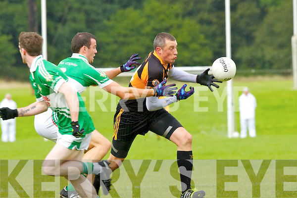 Kieran Donaghy Stacks goes past Padraig lucey legion during their league clash in Killarney on Sunday