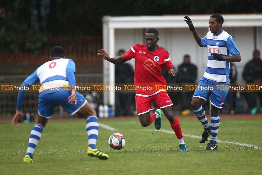 Junior Appiah of Walthamstow during Ilford vs Walthamstow, Essex Senior League Football at Cricklefields Stadium on 6th October 2018