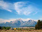 Teton Range, Grand Teton National Park, Wyoming, USA