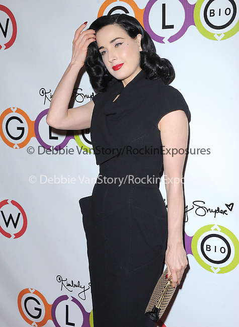 Dita Von Teese attends The Opening of Kimberly Snyder's Glow Bio in West Hollywood in West Hollywood, California on November 14,2012                                                                               © 2012 DVS / Hollywood Press Agency
