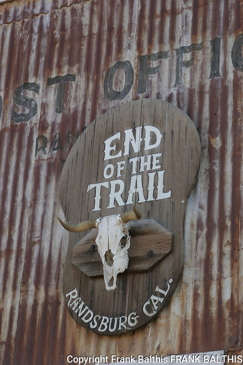 End of the Trail in Randsburg