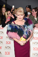 Cathy Shipton at the National TV Awards 2017 held at the O2 Arena, Greenwich, London. <br /> 25th January  2017<br /> Picture: Steve Vas/Featureflash/SilverHub 0208 004 5359 sales@silverhubmedia.com