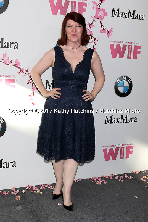 LOS ANGELES - JUN 13:  Kate Flannery at the Women in Film Los Angeles Celebrates the 2017 Crystal and Lucy Awards at the Beverly Hilton Hotel on June 13, 2017 in Beverly Hills, CA