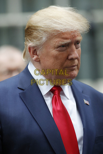 LONDON, ENGLAND - JUNE 04: Donald Trump outside in 10 Downing Street, during the second day of Trump State Visit on June 4, 2019 in London, England. <br /> CAP/GOL<br /> ©GOL/Capital Pictures