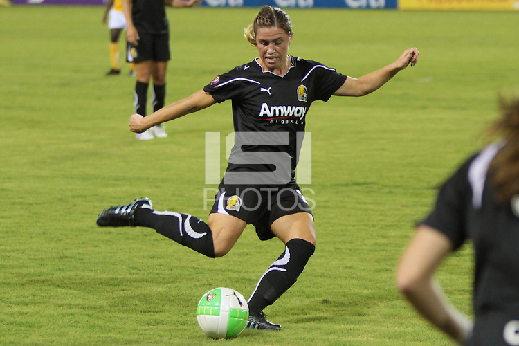 Camille Abily (20) of FC Gold Pride. FC Gold Pride defeated the Atlanta Beat 6-1 during a Women's Professional Soccer (WPS) match at KSU Atlanta Beat Stadium Kennesaw, GA, on August 28, 2010.