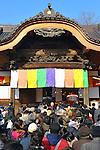 March 3, 2012, Tokyo, Japan - Many people showed up to Daruma Ichi, or Daruma Market, at Jindaiji Temple in Chofu, Tokyo, Japan on March 3, 2012. This was one of the biggest three Daruma Markets in Japan. (Photo by Koichiro Suzuki/AFLO) [4012]