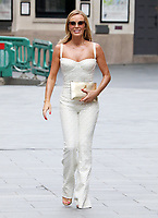 Amanda Holden seen leaving the Global Radio Studios in Leicester Square, London on Friday June 19th 2020<br /> <br /> Photo BDC/People Press