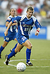 19 July 2003: Erin Baxter. The Carolina Courage defeated the San Diego Spirit 1-0 at SAS Stadium in Cary, NC in a regular season WUSA game.