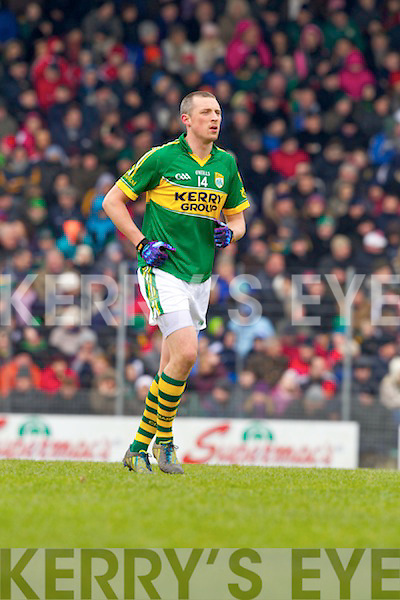 Kieran Donaghy Kerry in action against \\ Cork in the National Football League at Austin Stack park, Tralee on Sunday.