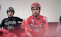 Thomas de Gendt (BEL/Lotto-Soudal) awaits his turn to start his TT<br /> <br /> 104th Tour de France 2017<br /> Stage 1 (ITT) - Düsseldorf › Düsseldorf (14km)