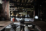 Traditional Kashi House, this house has been here from before 1941, it is not a pine tree, It is made with good wood and all hand made. <br /> Total six people live here. <br /> @Giulio Di Sturco