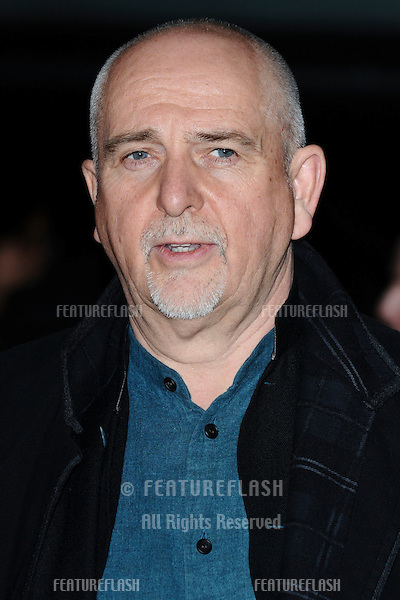 "Peter Gabriel at the ""John Carter"" premiere at the BFI South Bank, London. 02/03/2012 Picture by: Steve Vas / Featureflash"