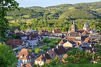 France, Correze, Dordogne valley,  Beaulieu sur Dordogne // France, Corrèze (19), vallée de la Dordogne, Beaulieu-sur-Dordogne