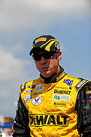 Sept. 26, 2008; Kansas City, KS, USA; Nascar Sprint Cup Series driver Matt Kenseth during practice for the Camping World RV 400 at Kansas Speedway. Mandatory Credit: Mark J. Rebilas-