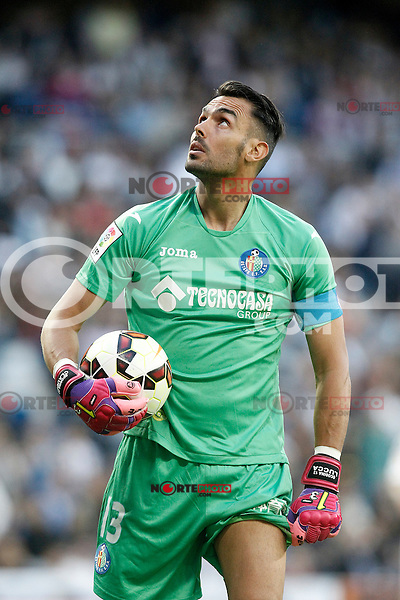 Getafe's Jordi Codina during La Liga match. May 23,2015. (ALTERPHOTOS/Acero) /NortePhoto.com
