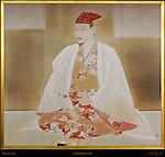 Toyotomi Hideyoshi painting Osaka Castle