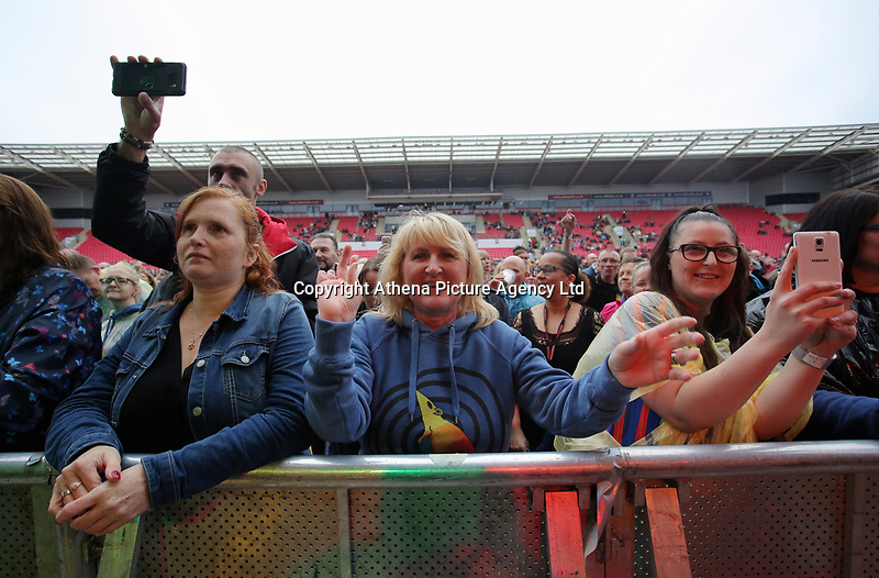 Fans in the crowd<br />