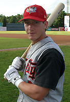 August 22, 2003:  Chad Prosser of the Tri-City ValleyCats during a game at Dwyer Stadium in Batavia, New York.  Photo by:  Mike Janes/Four Seam Images