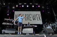 Nick Brewer performs during The New Look Wireless Music Festival at Finsbury Park, London, England on Sunday 05 July 2015. Photo by Andy Rowland.