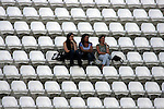 Three women are seen during a soccer game that was held in the northern Israeli city of Kiryat Shmona on Saturday, May 30th, 2009.