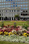 Flower gardens in Christchurch, New Zealand