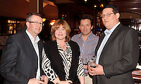 Anselm and Mary Molloy, Paragon Business Systems, Philip Rock, Village at Lyons, Kildare and Richard Adriano, Paragon, at the Irish Hotels Federation Conference 'President's Dine Around' event in The  Killarney Park Hotel  on Monday  night. Picture: MacMonagle, Killarney.