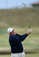 Anthony Wall of England in action during the Final Round of the 2015 Alfred Dunhill Links Championship at the Old Course, St Andrews, in Fife, Scotland on 4/10/15.<br /> Picture: Richard Martin-Roberts | Golffile