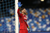 Alex Meret of Napoli<br /> during the Serie A football match between SSC  Napoli and SPAL at stadio San Paolo in Naples ( Italy ), June 28th, 2020. Play resumes behind closed doors following the outbreak of the coronavirus disease. <br /> Photo Cesare Purini / Insidefoto