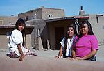 Women at Taos Pueblo