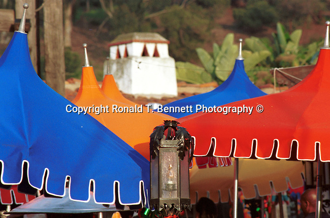 """Many colored umbrellas in court yard San Diego California, Fine art Photography and Stock Photography by Ronald T. Bennett Photography ©, FINE ART and STOCK PHOTOGRAPHY FOR SALE, CLICK ON  """"ADD TO CART"""" FOR PRICING,   California Fine Art Photography by Ron Bennett,"""