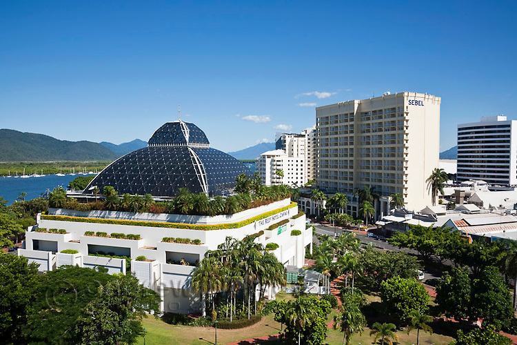 The Reef Hotel Casino and Sebel Hotel.  Cairns, Queensland, Australia
